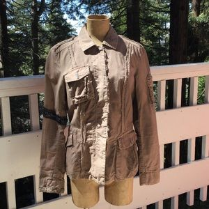 Dondup Military Style Jacket